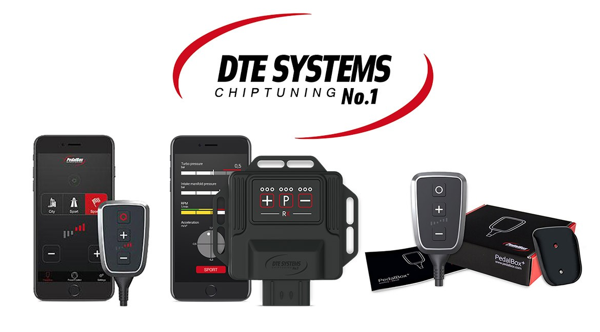 DTE Systems PedalBox throttle adjustment also through the application
