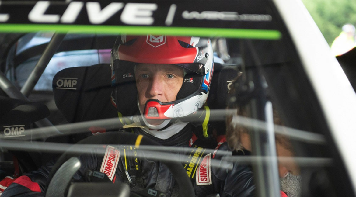 Kris Meeke World Rally Championship with Toyota for the 2019 season